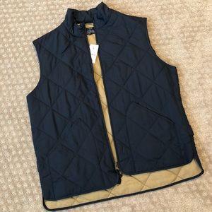 Men's J. Crew Factory quilted vest